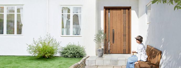 玄関リフォームイメージ