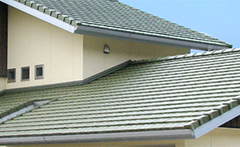 平板瓦 葺き直し工事(入母屋屋根)