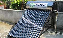 太陽熱温水器撤去