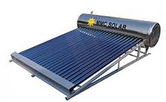 太陽熱温水器取り付け