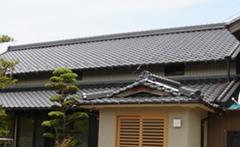 和型 葺き直し工事(入母屋屋根)