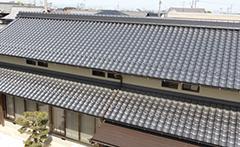 和型 葺き替え工事(切妻屋根)