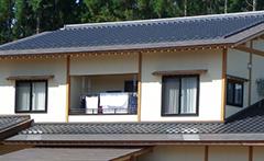 和型 葺き直し工事(寄せ棟屋根)