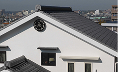和型 葺き替え工事(入母屋屋根)