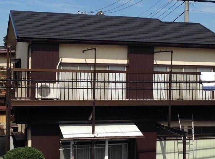 新座市 T様邸 屋根葺き替え・雨樋交換事例