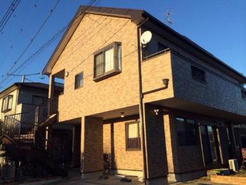 松伏町 S様邸 外壁・屋根塗装事例