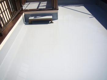 越谷市 S様邸 ベランダ防水塗装事例