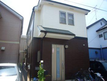 越谷市F様邸外壁・屋根塗装工事