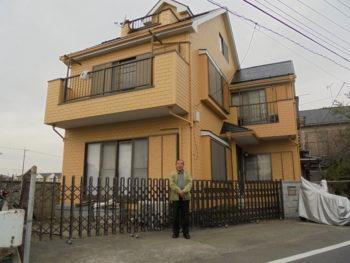 川越市K様邸外壁屋根塗装工事