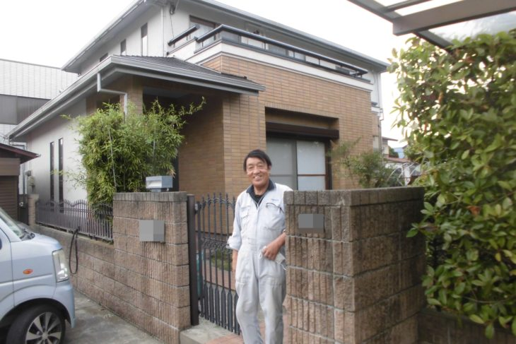 野田市U様邸外壁屋根塗装工事