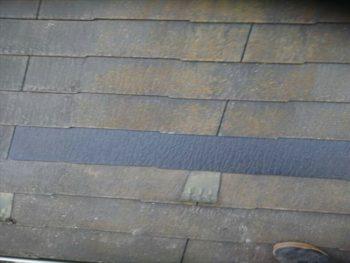 吉川市N様屋根スレート瓦補修工事