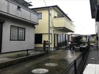 松伏町F様 屋根外壁塗装工事