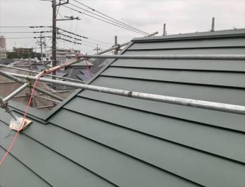 屋根カバー工法!お客様からのご紹介有難う御座います!!
